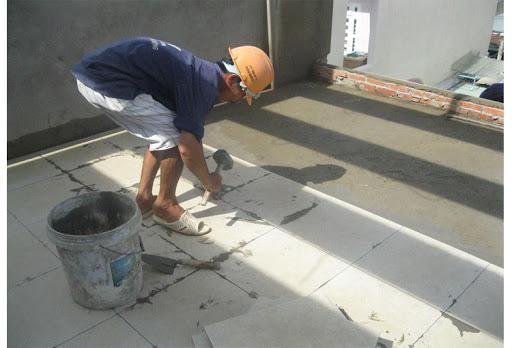 nhân công ốp lát gạch