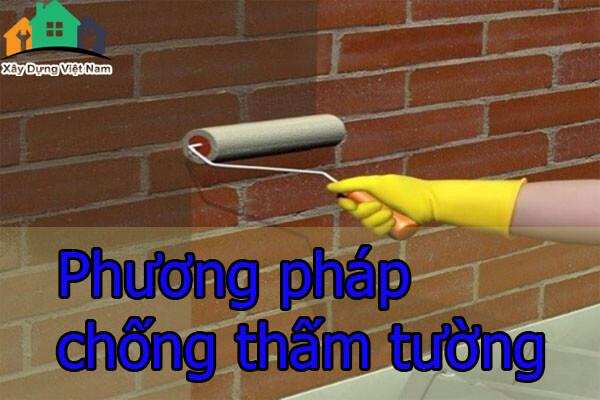Phương pháp chống thấm tường